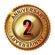 2--Years-anniversary-label